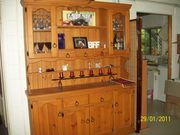 Solid Pine Hutch Exc Cond 1800mm high x 1600mm wide x 400mm deep