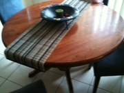 dining setting 4 seat round table
