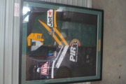 framed signed by australia &new zealand teams 2008 world cup perfect