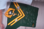 non framed australian signed jersey perfect condition