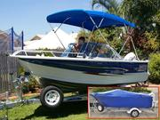 Quintrex Freedom Sport 4.7m Bow Rider - Great Family Boat