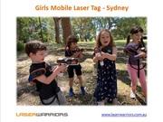 Girls Mobile Laser Tag - Sydney